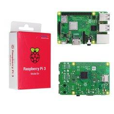 Raspberry Pi 3 Model B+ (Plus) Mother Board Mainboard With BCM2837B0 Cortex-A53 (ARMv8) 1.4GHz CPU Dual-Band Wireless LAN w/ 1GB RAM
