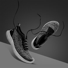 Xiaomi AMAZFIT Fly Knit Ultralight Men Sneakers Bacteriostatic Mildewproof Wear Resistance Non-slip Sports Running Shoes