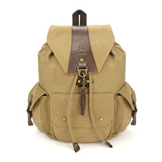 Casual Vintage Men's Backpacks Canvas Women Backpack School Bags
