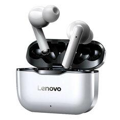 नई Lenovo LP1 TWS ब्लूटूथ इयरबड्स IPX4 वॉटरप्रूफ स्पोर्ट हेडसेट शोर HIFI बास हेड फोन्स को माइक Type-C चार्ज के साथ र