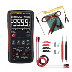 ANENG Q1 9999 Counts True RMS Digital Multimeter AC DC Voltage Current Resistance Capacitance Temperature Tester Auto/Manual Raging with Analog Bar Graph