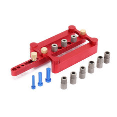Self Centering Dowelling Jig Metric Dowel 6/8/10mm Drilling Tools for Wood Working