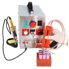 SUNKKO 709A 1.9kw Spot Weld.er Soldering Station Welding Machine + Universal Welding Pen for Phone Notebook 18650 Lithium Battery