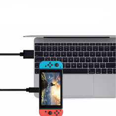 USB 3.0 2A Type C Charging Cable for Nintendo Switch Samsung S8 Xiaomi 6 Oneplus