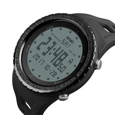 SKMEI 1246 Outdoor Alarm Chronograph Double Time Swimming Sport Men Digital Watch
