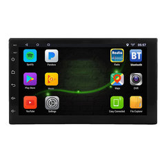7 Inch 2 DIN for Android 8.1 Car Stereo Radio 1+16G Quad Core MP5 Player 2.5D Touch Screen WiFi GPS AM bluetooth