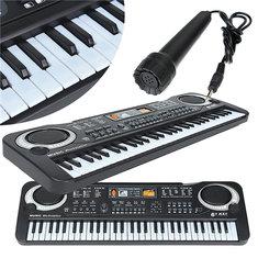 61 Keys Music Electronic Keyboard Key Board Kids Gift Electric Piano Organ