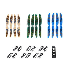 12pcs Original JJRC JJPRO-5030 2-blade Camouflage Propeller for QAV250 QAV280 RC FPV Racing Drone