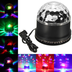 48 LED Disco DJ Stage Light Magic Ball KTV Party Club Effect Lighting show Black