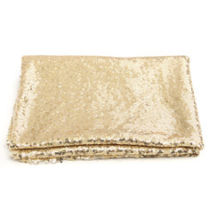 4x6FT Champagne Gold Sequin Photo Backdrop Wedding Photo Booth Background Decoration