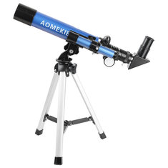 F400x40 Astronomical Refractor Telescope HD Optical Space Monocular Entry Level Children Kids Toy Gifts + Tripod