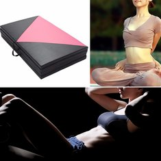 Exercise Yoga Foldable Portable Space saving Mat For Fitness Studio And Home Use
