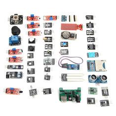 Geekcreit® 45 In 1 Sensor Module Board Kit Upgrade Version For Arduino Plastic Bag Package