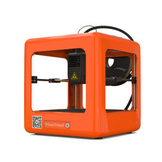 Easythreed® Orange NANO Mini Fully Assembled 3D Printer 90*110*110mm Printing Size Support One Key Printing with CE Certificate for Household Education & Students
