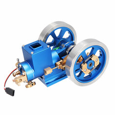 In Stock STEM Stirling Engine Full Metal Combustion Engine Hit & Miss Gas Model Engine Gift Collection Toy
