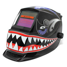 Shark Mouth Solar Auto Darkening Welder Mask Electrowelding Welding Helmet