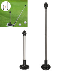 Adjustable Golf Magnet Lie Angle Tool Face Aimer Alignment Training Aid Rod Golf Alignment Rods