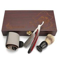 Heavy Straight Razor Shaving Brush Strop Kits