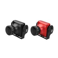 JJA-CM1200 1/3 CMOS 1200TVL Mini FPV Camera 2.1mm Lens 16:9 PAL/NTSC Black/Red For RC Drone