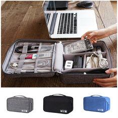 Xmund XD-DY28 Wielofunkcyjna cyfrowa torba do przechowywania Torba na kabel Torba na kabel USB Ładowarka Organizer na słuchawki Podróż na zewnątrz