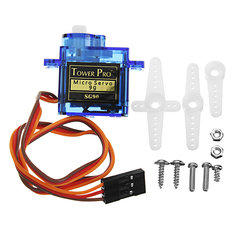 KittenBot® 23x12.2x29mm SG90 9g Mini Servo with 25cm Wire for Smart Robot Car