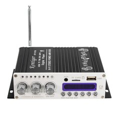 Kentiger™ HY-V10 Mini bluetooth Hi-Fi Stereo Amplifier Bass Booster MP4 12V for Car Motorcycle