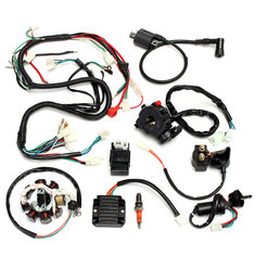 Complete Electrics Wiring Harness For Chinese Dirt Bike ATV QUAD 150-250 300CC
