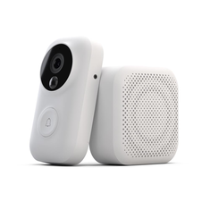 Zero AI Face Identification 720P IR Night Vision Video Doorbell Set Motion Detecting SMS Push Intercom Free Cloud Storage From Xiaomi Youpin
