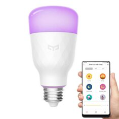 Yeelight YLDP06YL E26 E27 10W RGBW Smart LED Bulb Work With Amazon Alexa AC100-240V (Xiaomi Ecosystem Product)