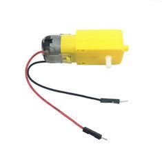 Маленький Hammer 130 TT DC Gear Мотор 10 см 15 см Dupont Line Штекер для Smart Arduino робот Авто DIY