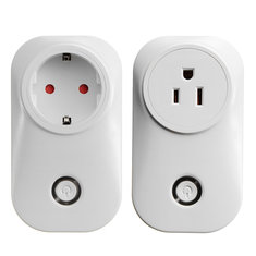 Smart WiFi Remote Control Timer Switch Power Socket Outlet US/EU Plug For Phones