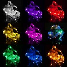 2M 20 LED Ribbon String Fairy Light Battery Powered Party Xmas Wedding Decoration Lamp