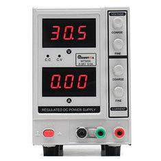 MUSTOOL MT3205 Adjustable 30V 5A 3-digit Regulated DC Power Supply for Electronic Maintenance 220V EU Plug/ 110V US Plug