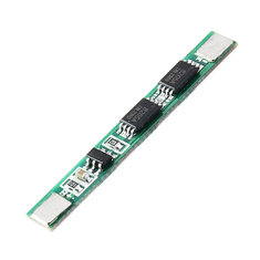 10pcs 1S 3.7V 4A li-ion BMS PCM 18650 Battery Protection Board PCB for 18650 lithium Battery Double MOS