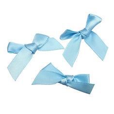 50Pcs 7mm Satin Ribbon Bows Scrapbooking For DIY Decoration Gifts