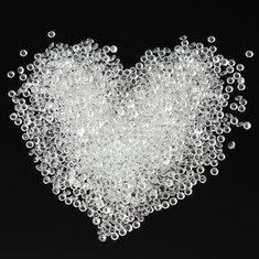 2000Pcs Crystals Diamonds Wedding Decorations