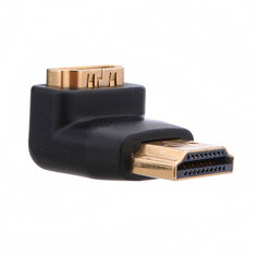 HDMI Right Angle 90 Degree Male to Female Adapter Socket Coupler