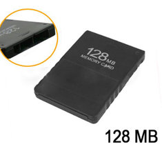 128MB Memory Card For Play Station 2 PS2 Black