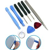 Professional 9 IN 1 Repairing Opening Pry Tool Set Kit para Tablet Cell Phone