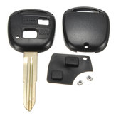 Remote Key Shell Rubber Pad Switches Blade Reparatieset voor Toyota Yaris