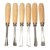 6pcs Graver Wood Carving Wood Chisel Wood Carving herramienta