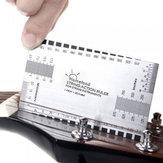 Kytarový strunný akustický měřicí měřicí pravítko Bass Luthier nástroj
