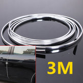 Chrome Molding Trim Strip Car Door Edge Krasbeschermhoes