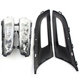 Front Left/Right Grill Fog Light Grille Lamps For VW Polo MK8 6R 09-11