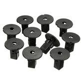 10pcs clips 9mm fender liner vis oeillets pour Toyota Tacoma toundra