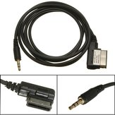 1.Music interface 5m ami mmi al cable adaptador aux mp3 audio de 3.5mm para a3 audi vw