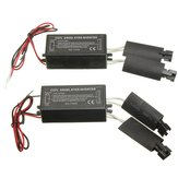 2X Black 12V Spare CCFL Angel Eyes Inverter For BMW E36 E46 E53 E83
