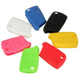 3 Button Silicone Remote Key Cover Beschermhoes Fob Voor VW MK7