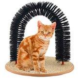 Cat Self-Groomer Arch Bristles Kitten Massager Scratcher Carpet