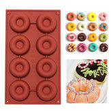 DIY Silicone Donuts Mold Cake Chocolate Cookies Mould Baking Decorating Tool